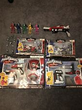 Power Rangers SPD Space Patrol Delta Action Figure Toy Gun/Blaster Lot Bandai
