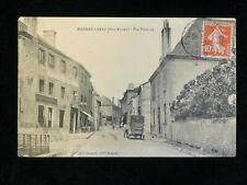 CPA MAGNAC-LAVAL (Haute-vienne 87) Rue Fenelon / Café LE LION D'OR / Voiture