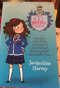 Alice-Miranda by Jacqueline Harvey, Pb Book