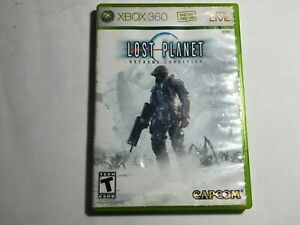 Lost Planet: Extreme Condition (Microsoft Xbox 360, 2007)(Complete) (Working)