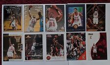 1867 ~ Lot of 10 Different ALONZO MOURNING NBA Basketball Cards ~ Miami Heat