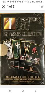 1997 Grand Slam Champions of Golf Masters Collection Box Tiger Woods Rookie RC