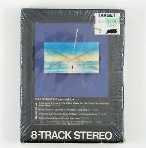 DIRE STRAITS Communique 8-TRACK TAPE 1979 ROCK (STILL SEALED)