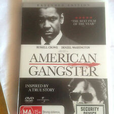 American Gangster (DVD, 2008) * USED *
