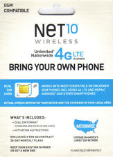 This at&t micro sim card gets you unlimited text / talk / data for $45 mo Net10