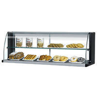 Turbo Air TOMD-50-HB, Black 50-inch Top Dry Display Case for Turbo Air TOM-30S S