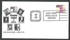 1973 COVER #1291a 30c FDC TAGGED CACHETED CATS $45.00