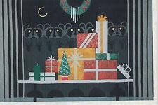 Gift Rapt - beautifull applique Christmas quilt PATTERN - Charley Harper design