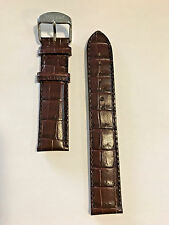 Original Tissot PR 100 Brown Leather 19mm Strap Band for T049417A