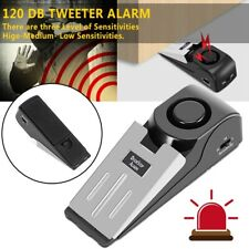 Wireless Door Stop Portable Alarm Safety Wedge Alert Home Travel Security System