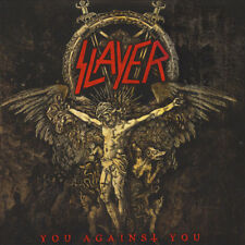"SLAYER -  you against you, 7"" red vinyl, LTD 300, MINT, UNPLAYED"