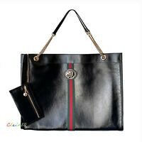 NWT Authentic Gucci Maxi Rajah Leather Tote