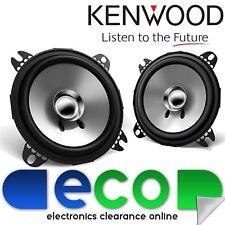 "Kenwood Car Stereo 10cm 4"" Inch 420 Watts Door Dash Shelf Coaxial Car Speakers"