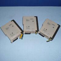 AEG SCHNEIDER MODICON TSX POWER SUPPLY MODULE AS-P120-000 *LOT  OF 3  *PZF*