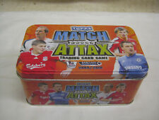 Topps Match Attax tin and  cards
