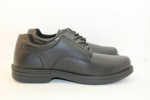 New unbranded black men's lace up dress casual shoes size 9