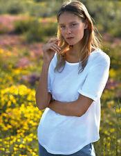 Damen Fairtrade Halbarm Shirt Bio Baumwolle Jersey Gr.XS-XXL in 6 Farben NE81004