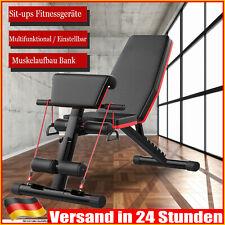 Faltbare Hantelbank Krafttraining Fitness 7Steig verstellbares Workout-Fitnesss