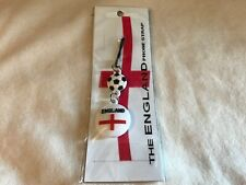 England Mobile Phone, Keyring, bag strap.  Support Your Country