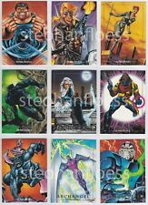 1992 SkyBox Marvel Masterpieces Joe Jusko X-Men You Pick Finish Your Set 1-100