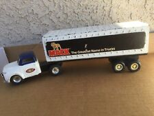 VINTAGE BUDDY L CORP DIE-CAST MACK TRAILER And CS Truck