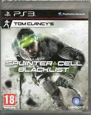 SPLINTER CELL: BLACKLIST (Stealth, 3rd Person) GAME PS3 (black list) ~ NEW