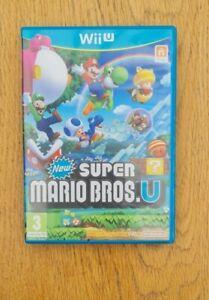 Nintendo Wii U New Super Mario Bros U Complete Excellent Condition