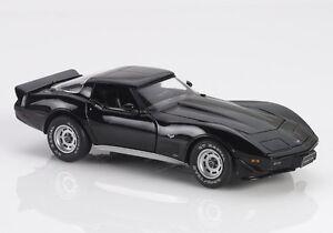 FRANKLIN MINT 1979 CORVETTE LE CAR #0003/0750 S11E860 BLACK MIB FACTORY FRESH