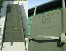 US Army Stretcher Folding Bed Canvas Camping Festival Bed