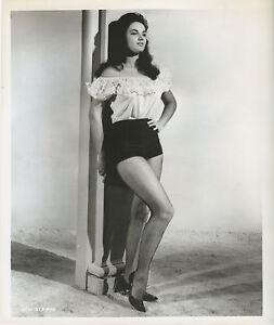 BLACK ZOO photo Sexy WARRENE OTT original1963 posed publicity still with caption