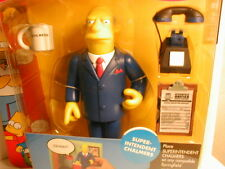 2003 The SIMPSON`s interactive figure WOS series 8  SUPERINTENDENT  CHALMERS
