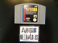 NBA Pro 98 Nintendo N64 PAL
