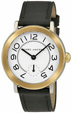 Marc Jacobs Riley Silver Dial Ladies Leather Watch MJ1514