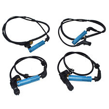 4Pcs ABS Wheel Speed Sensor Front Rear For BMW 320i 325i 325Ci 328Ci 34526752683