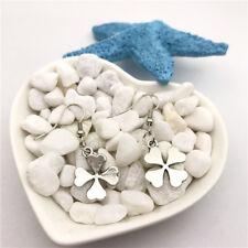 Four Leaf Clover Earrings Tibet silver Charms Earrings Charm Earrings for Her