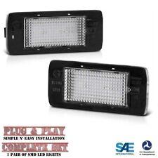 2015-2020 Tahoe Suburban Yukon XL Escalade White SMD LED License Plate Lights