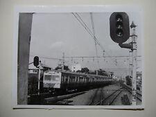 JAP530 - 1965 SEIBU RAILWAY Co - ELECTRIC TRAIN PHOTO - Saginomiya Japan