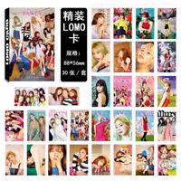 30Pcs/set KPOP TWICE Album FANCY YOU Lomo Card Photo Card Poster Photocard