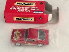 Matchbox Special Limited Edition Toy Show Car June 1999 Mint