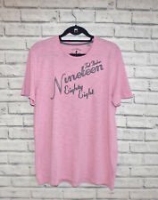 Ted Baker Pink Retro Embroidered 1988 T-shirt Size4 L