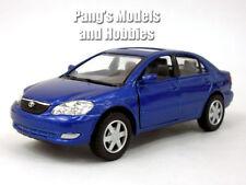 Toyota Corolla 1/36 Scale Diecast Model by Kinsmart - BLUE