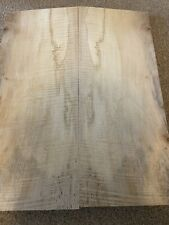More details for figured flamed maple 1 inch thick electric guitar body top