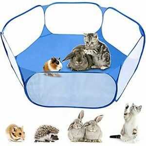 MAIKEHIGH Foldable Pet Puppy Playpen Cage Play Tent Outdoor Indoor Fence for Gui