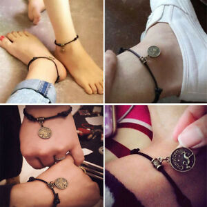 Women 12 Constellation Ankle Bracelet Chain Anklet Foot Jewellery Foot Beach Man