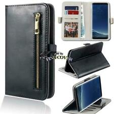 For Samsung Galaxy S 1/2/3/4/5/6/7 Phones - Flip Cover Stand Wallet Leather Case