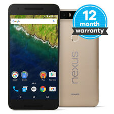 Huawei Nexus 6P A2 - 64GB - Gold (Unlocked) Smartphone Very Good Condition