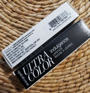 Lot of TWO AVON Ultra Color Indulgence Lip Color Plum Verbena NIB