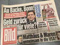 Bildzeitung vom 29.04.1999 * 18. 19. 20. Geburtstag Geschenk * Gerhard Schröder