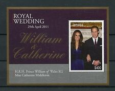 Jamaica 2011 MNH Royal Wedding 1v S/S Prince William Wales Kate Middleton