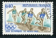 STAMP / TIMBRE FRANCE OBLITERE N° 1573  JEUX OLYMPIQUES DE MEXICO
